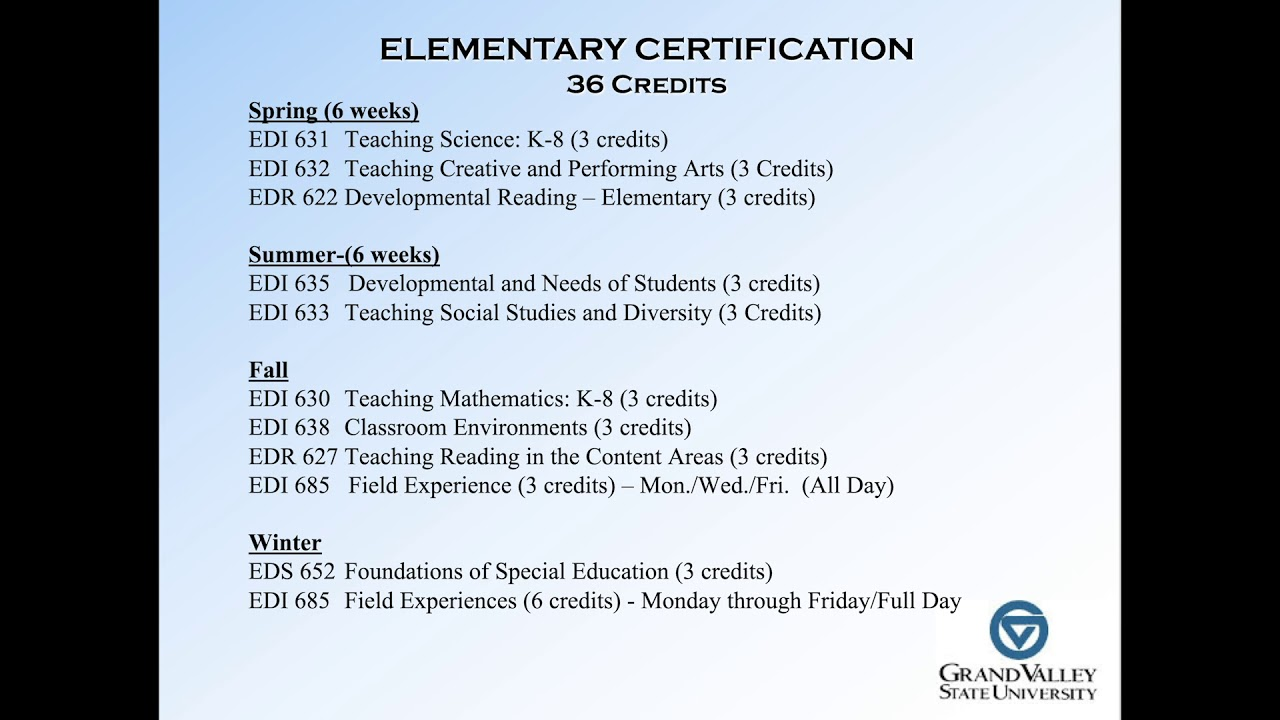 Teacher Certification At Gv 4 Graduate Teacher Certification Gtc Program