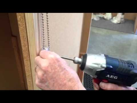 Fitting Child Safety Clips On Roller Blinds Youtube