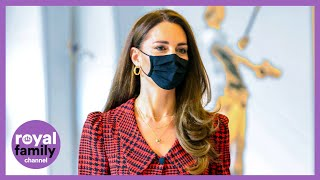 Kate Middleton Tours New Art Exhibit at Victoria and Albert Museum