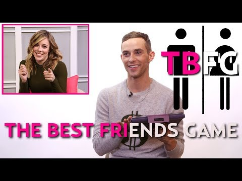 BEST FRIENDS GAME with Olympians Adam Rippon and Ashley Wagner