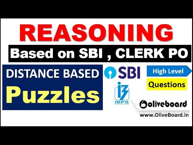Distance Based Puzzles asked in PREVIOUS EXAM imp for SBI , IBPS Exams