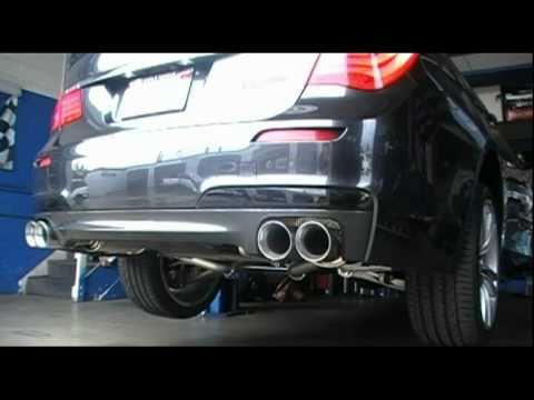 2010 BMW 740 CUSTOM EXHAUST