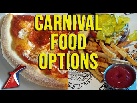 Food Options Carnival Cruise Basics - Vacation Impossible Podcast