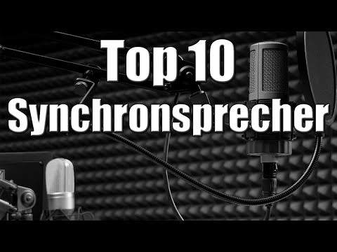 Top 10 - Synchronsprecher