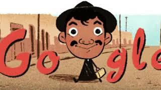 Mario Moreno Cantinflas Google Doodle