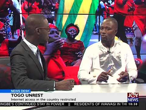 Togo Unrest - News Desk on Joy News (7-9-17)