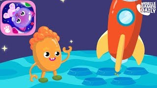 Cute & Tiny Space - Kids Explore Stars & Planets gameplay walkthrou...