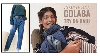 ROMWE & COLABA TRY ON HAUL
