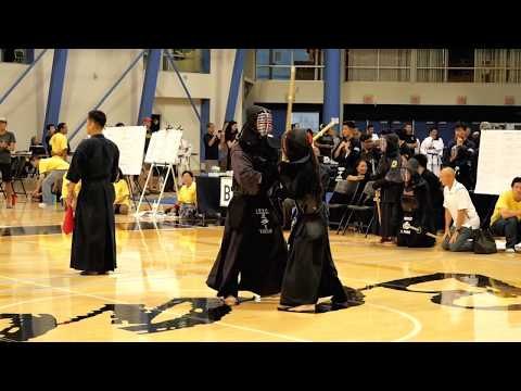 Kendo 2017 Nikkei Games Kachinuki Mixed Team Division: Match 7