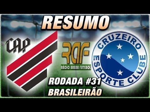 AthleticoPR e Cruzeiro Ao Vivo l Campeonato Brasileiro l Rodada 31