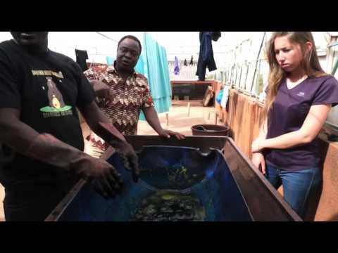 Zem Batik - Présentation du Batik - Ouagadougou - Burkina Faso