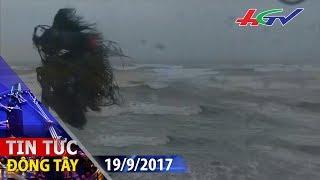 Bão Talim tràn vào đảo Hokkaido Nhật Bản | TIN TỨC ĐÔNG TÂY - 19/9/2017