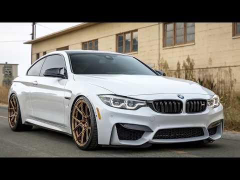 [Hot News] Alpine White BMW M4 Gets Vorsteiner Wheels And Aerodynamics