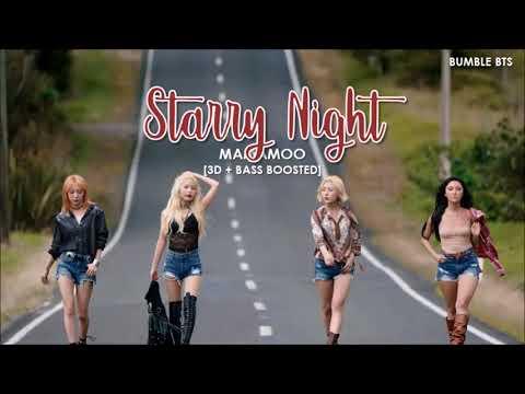 [3D+BASS BOOSTED] MAMAMOO (마마무) - STARRY NIGHT (별이 빛나는 밤)   bumble.bts