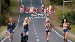 [3D+BASS BOOSTED] MAMAMOO (마마무) - STARRY NIGHT (별이 빛나는 밤) | bumble.bts