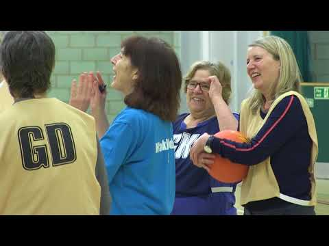 Community: Foundation hosts DCMS and Sport England at Walking Netball session
