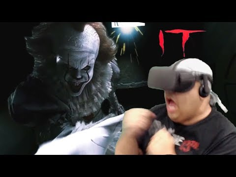 I GUESS YOU COULD SAY I GOT CLOWNED!? NO? OKAY. [IT VR EXPERIENCE + ANNABELLE VR] |