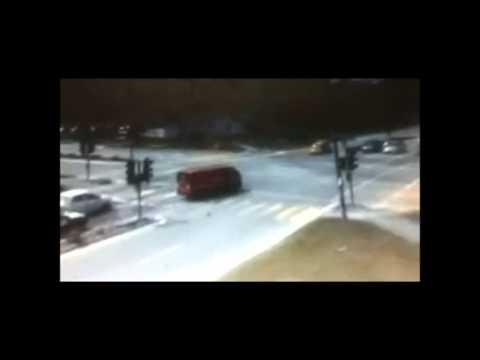 Fatal RapidKL Bus Runs Red Light @ Cyberjaya 6