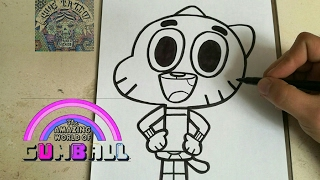 COMO DIBUJAR A GUMBALL - how to draw gumball