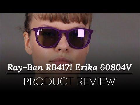 Ray Ban Rb4171 Erika Velvet Violet Sunglasses Review Youtube