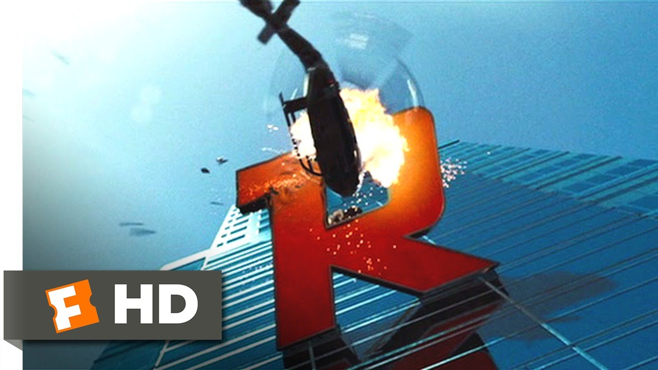 The Island (7/9) Movie CLIP - Riding the Logo (2005) HD