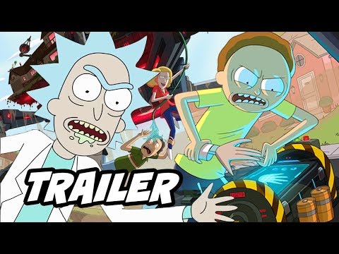 Rick and Morty Season 4 Trailer - Season 4 Episode 1 Review NO SPOILERS