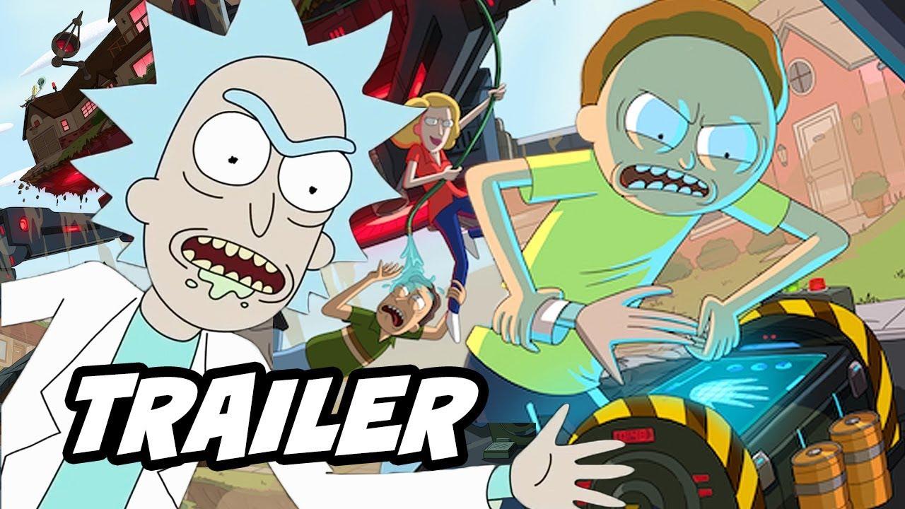 Rick And Morty Season 4 Trailer Season 4 Episode 1
