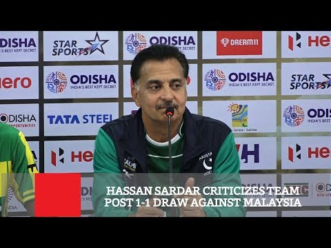 Hassan Sardar Criticizes Team Post 1-1 Draw Against Malaysia