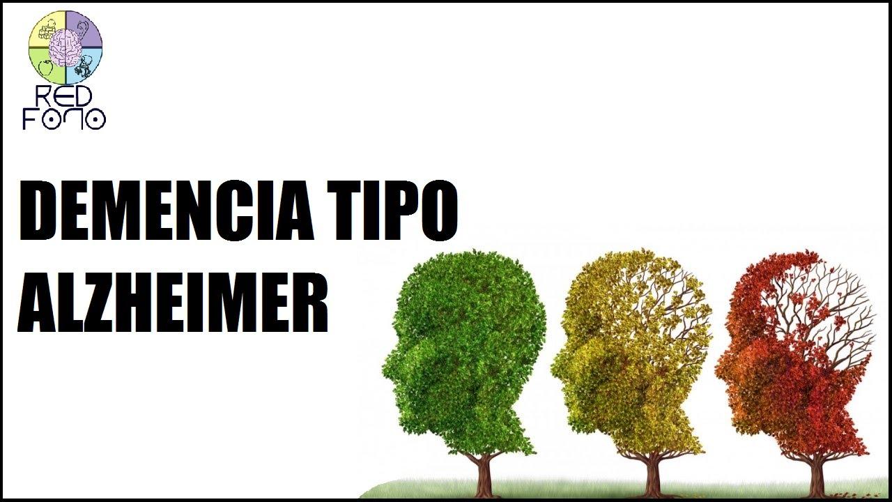 que es demencia alzheimer