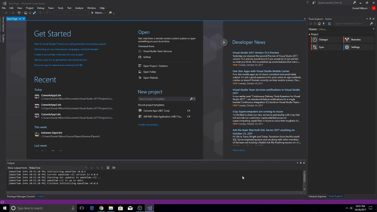 Using Bitbucket With Visual Studio(Updated 2017 version)