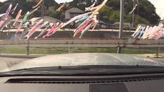 20130429【車載カメラ】【オンボード】R249、石川県道45号大谷狼煙飯田線