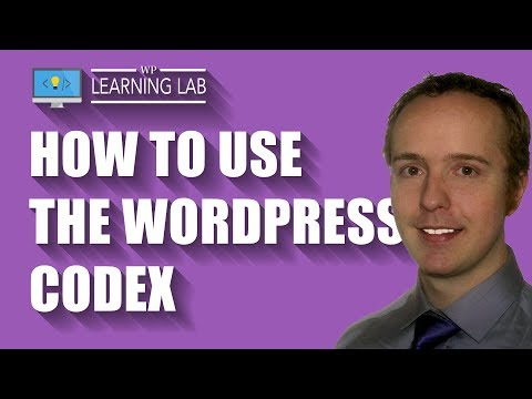WordPress codex pages