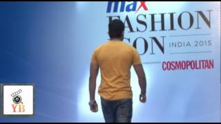 Male Models At MAX Fashion Show Audition