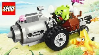 LEGO Angry Birds Movie Piggy Car Stop Motion Video Review