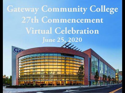 Gateway Community College Virtual Commencement 2020