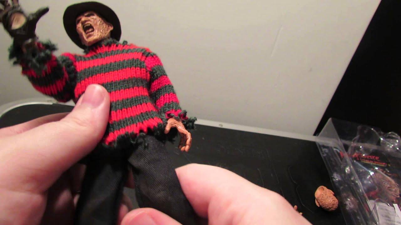 71f5d287f0e27a NECA Nightmare On Elm Street 2 Retro clothed Freddy figure review ...