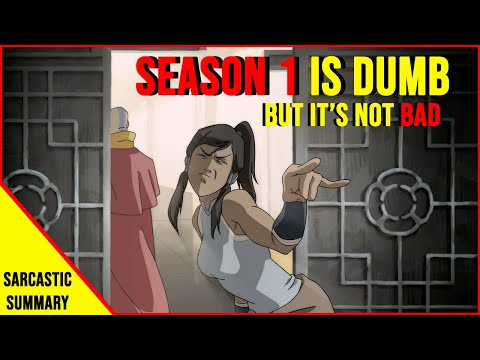 Sarcastic Summary Legend Of Korra Season 1 PART 1