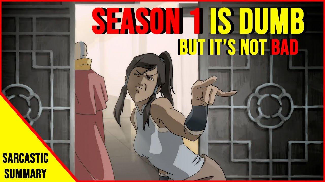 Download Sarcastic Summary Legend of Korra Season 1 PART 1