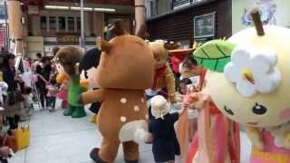 近鉄奈良駅前の「行基広場」に設置された大屋根の完成を記念して 「行基...