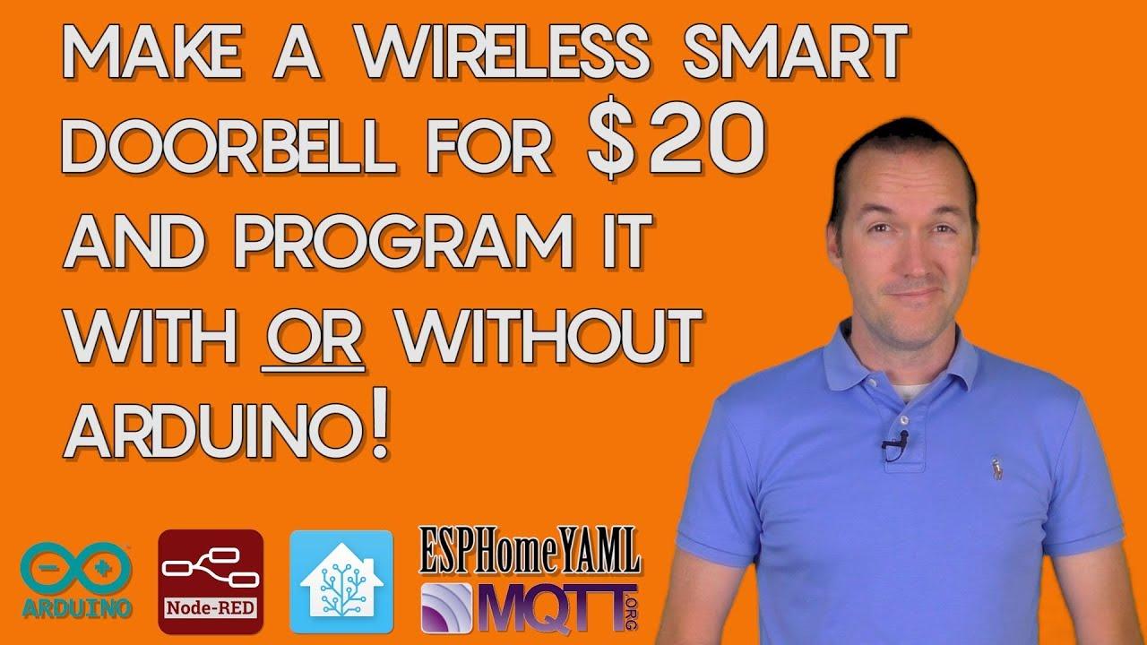 DIY Wireless Smart Doorbell: Program ESP8266 NodeMCU with