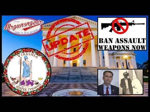 Virginia Assault Weapons Ban Bill Moves Forward & Citizens Are Kicked Out!