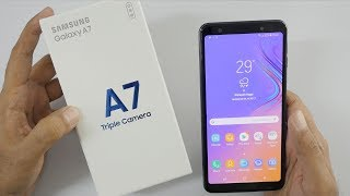 Samsung Galaxy A7 Triple Camera Setup Unboxing & Overview