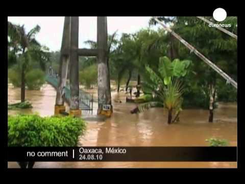 Tropical storm Frank hits Mexico - no comment
