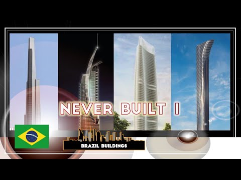 Brazil Tallest Buildings | Never Built | Embraed Tower | São Paulo City Tower