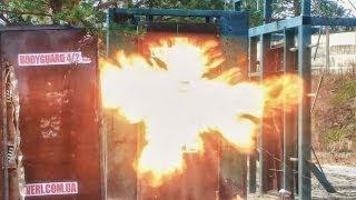 Бронедвери: взрыв двери 6-го класса взломостойкости