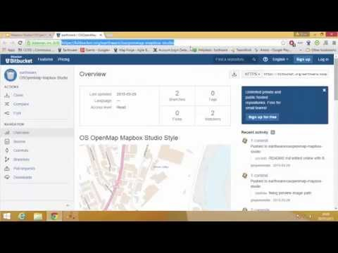 MapBox Studio Styling Large Datasets - Step 4 Styling Your Map - YouTube