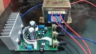 Hướng dẫn nâng cấp công suất mạch loa vi tính sử dụng IC TDA2030A chi tiết