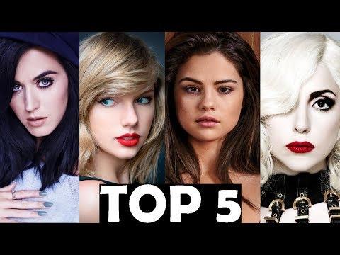 TOP 5 SONGS OF EACH ARTIST   POP DIVAS   TOP 5...