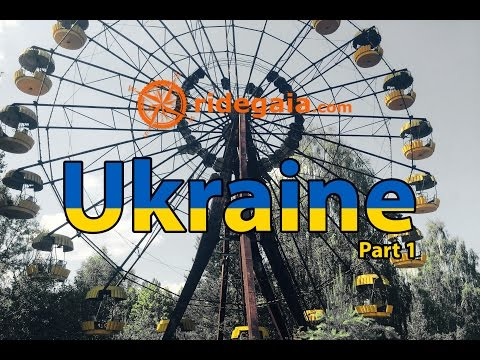 Ep 11 - Ukraine, Chernobyl - Around Europe on a motorcycle