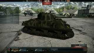 (German) M4 Sherman Tank Review : Sherman the German (War Thunder Ground Forces)